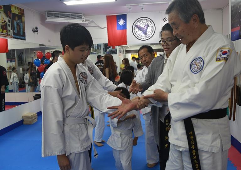 Taiwan Hapkido School|台灣校區合氣道照片